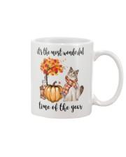 The Most Wonderful Time - Ragdoll Cat Mug thumbnail