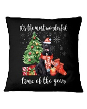 The Most Wonderful Xmas - Cane Corso Square Pillowcase thumbnail