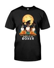 Howloween Boxer 2 Classic T-Shirt front