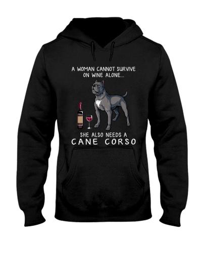 Wine and Cane Corso 3