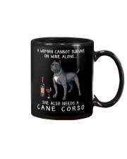 Wine and Cane Corso 3 Mug thumbnail