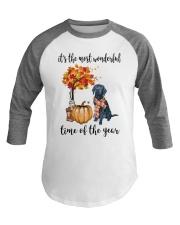 The Most Wonderful Time - Black Labrador Baseball Tee thumbnail