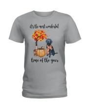 The Most Wonderful Time - Black Labrador Ladies T-Shirt thumbnail