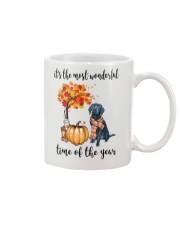 The Most Wonderful Time - Black Labrador Mug thumbnail