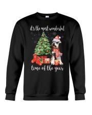 The Most Wonderful Xmas - Schnauzer Crewneck Sweatshirt thumbnail