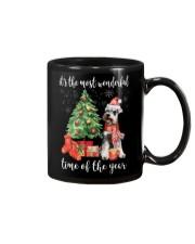 The Most Wonderful Xmas - Schnauzer Mug thumbnail