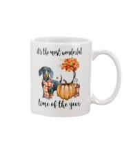 The Most Wonderful Time - Dachshund Mug thumbnail