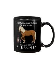 Wine and Brumby Mug thumbnail