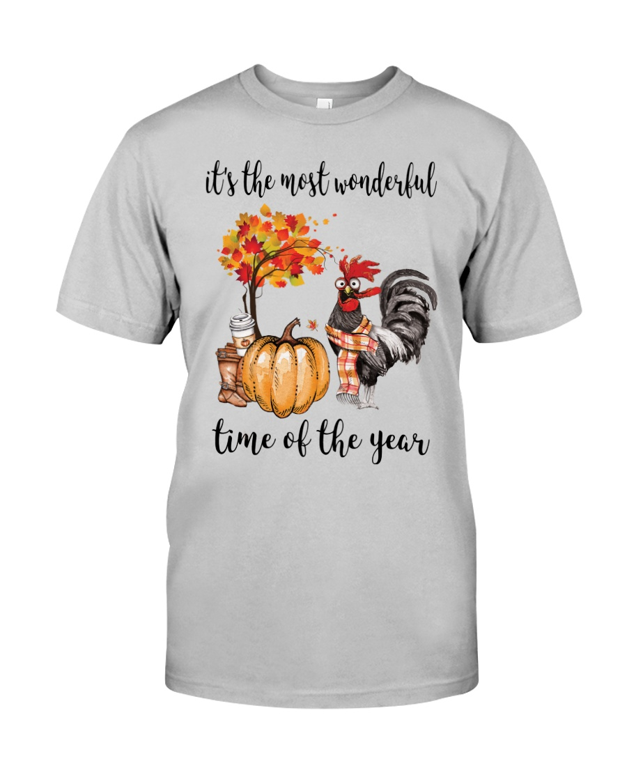 The Most Wonderful Time - Rooster Classic T-Shirt