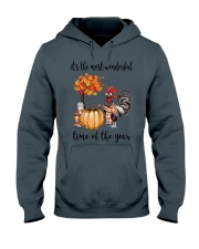 The Most Wonderful Time - Rooster Hooded Sweatshirt thumbnail