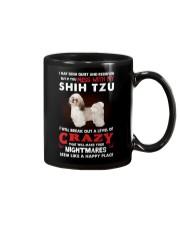 If You Mess With My Shih Tzu Mug thumbnail