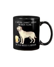 Beer and Labrador Mug thumbnail