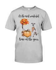 The Most Wonderful Time - Italian Greyhound Classic T-Shirt front