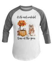 The Most Wonderful Time - Lhasa Apso Baseball Tee tile