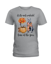 The Most Wonderful Time - Cane Corso Ladies T-Shirt tile