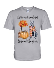 The Most Wonderful Time - Cane Corso V-Neck T-Shirt thumbnail