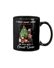 Christmas Wine and Great Dane Mug thumbnail