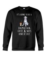Dalmatian Coffee and Naps Crewneck Sweatshirt thumbnail