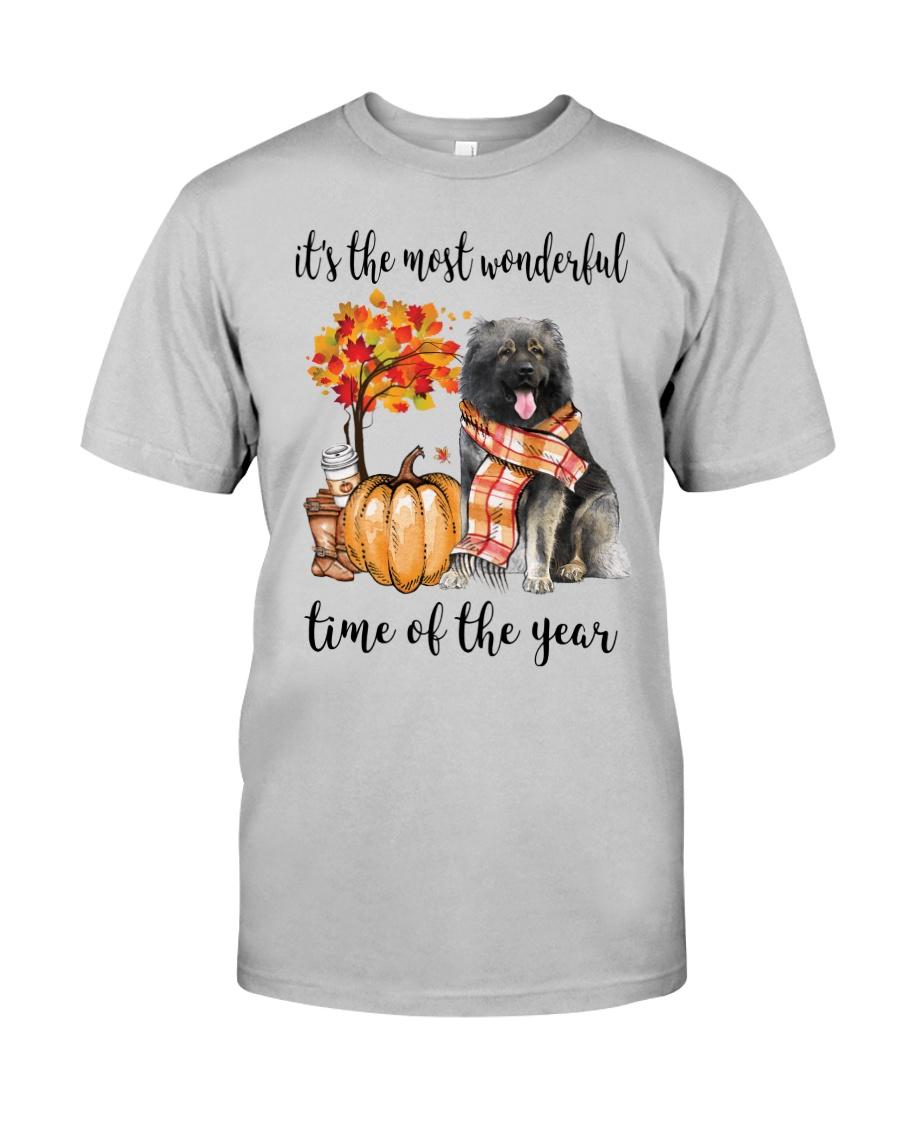 The Most Wonderful Time - Caucasian Shepherd Classic T-Shirt