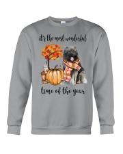 The Most Wonderful Time - Caucasian Shepherd Crewneck Sweatshirt thumbnail