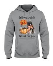 The Most Wonderful Time - Caucasian Shepherd Hooded Sweatshirt thumbnail