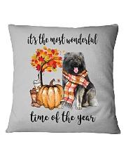 The Most Wonderful Time - Caucasian Shepherd Square Pillowcase thumbnail
