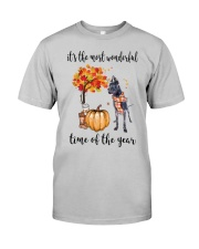 The Most Wonderful Time - Black Great Dane Classic T-Shirt thumbnail
