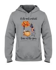 The Most Wonderful Time - Black Great Dane Hooded Sweatshirt thumbnail