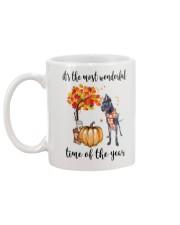 The Most Wonderful Time - Black Great Dane Mug back