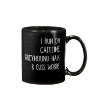 Caffeine and Greyhound Mug thumbnail