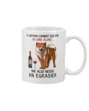 Wine and Eurasier 2 Mug thumbnail