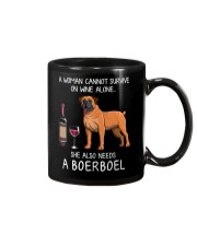 Wine and Boerboel Mug thumbnail