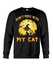 Don't Mess With My Cat  Crewneck Sweatshirt thumbnail