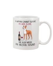 Wine and Ibizan Hound 2 Mug thumbnail