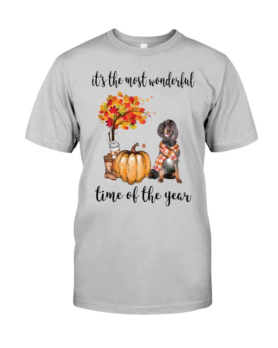 The Most Wonderful Time - Gordon Setter Classic T-Shirt