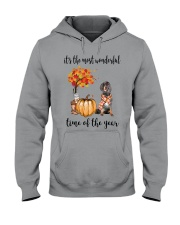 The Most Wonderful Time - Gordon Setter Hooded Sweatshirt tile