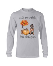 The Most Wonderful Time - Gordon Setter Long Sleeve Tee thumbnail