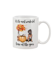 The Most Wonderful Time - Gordon Setter Mug tile