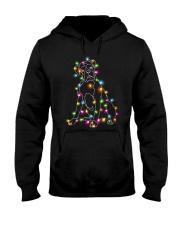Christmas Light Boxer Hooded Sweatshirt thumbnail