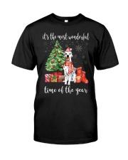 The Most Wonderful Xmas - Dalmatian Classic T-Shirt front