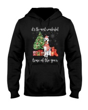 The Most Wonderful Xmas - Dalmatian Hooded Sweatshirt thumbnail