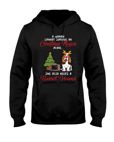 Christmas Movies and Basset Hound