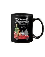 Wonderful Christmas with Truck - Pit Bull Mug thumbnail