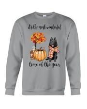 The Most Wonderful Time - Schipperke Crewneck Sweatshirt thumbnail