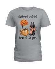 The Most Wonderful Time - Schipperke Ladies T-Shirt thumbnail