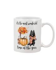 The Most Wonderful Time - Schipperke Mug thumbnail