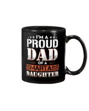 A Pround Dad Of A Smartass Daughter Mug thumbnail