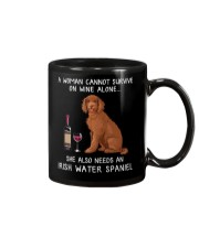 Wine and Irish Water Spaniel Mug thumbnail