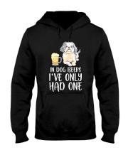 In Dog Beers I've Only Had One - Shih Tzu Hooded Sweatshirt thumbnail