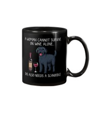 Wine and Schnoodle Mug thumbnail